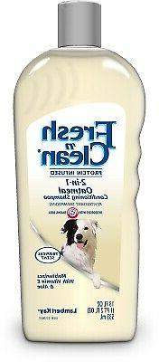 Fresh'n Clean Pet 2-in-1 Oatmeal and Baking Soda Formula Con