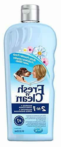 Fresh'n Clean Pet 2-in-1 Baby Powder Formula Conditioning Sh