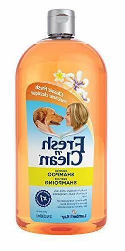 New Fresh 'n Clean Scented Dog Pet Shampoo, 32 oz, Proteins