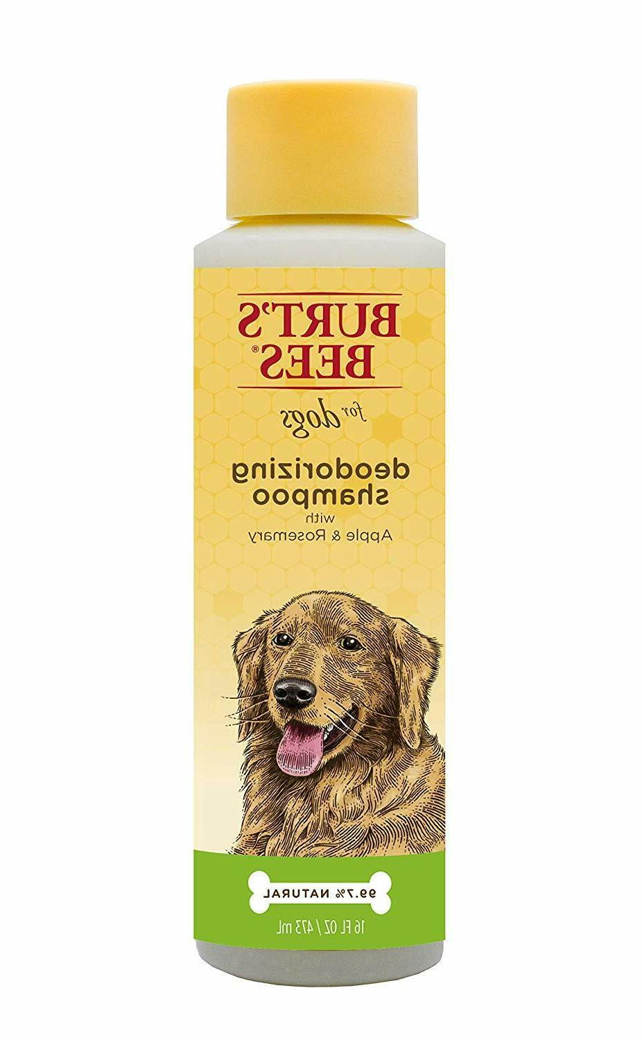 natural deodorizing shampoos and sprays for dogs