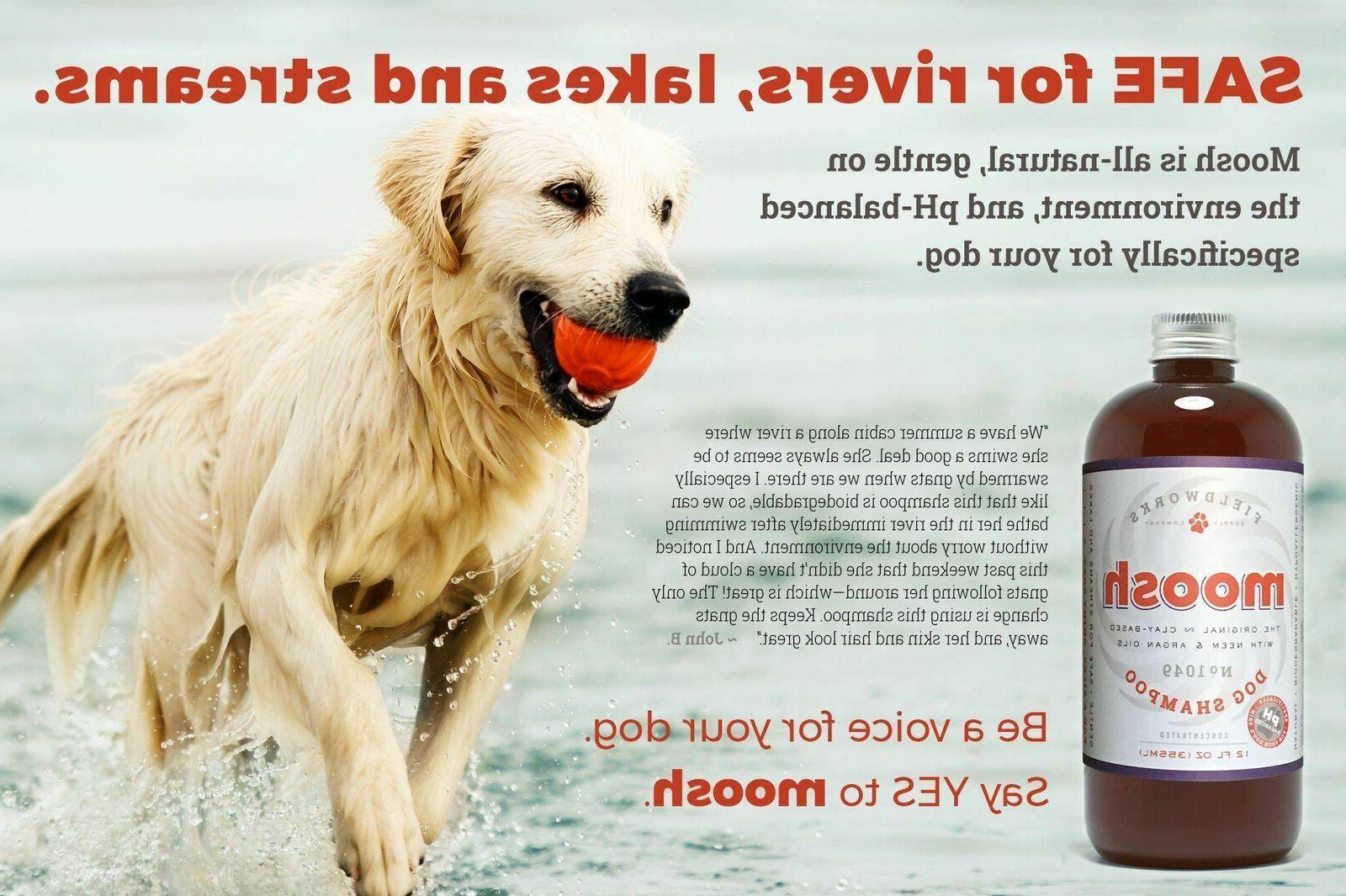 Natural Dog Shampoo. Anti-Bacterial-Anti-Fungal- Anti-Itch