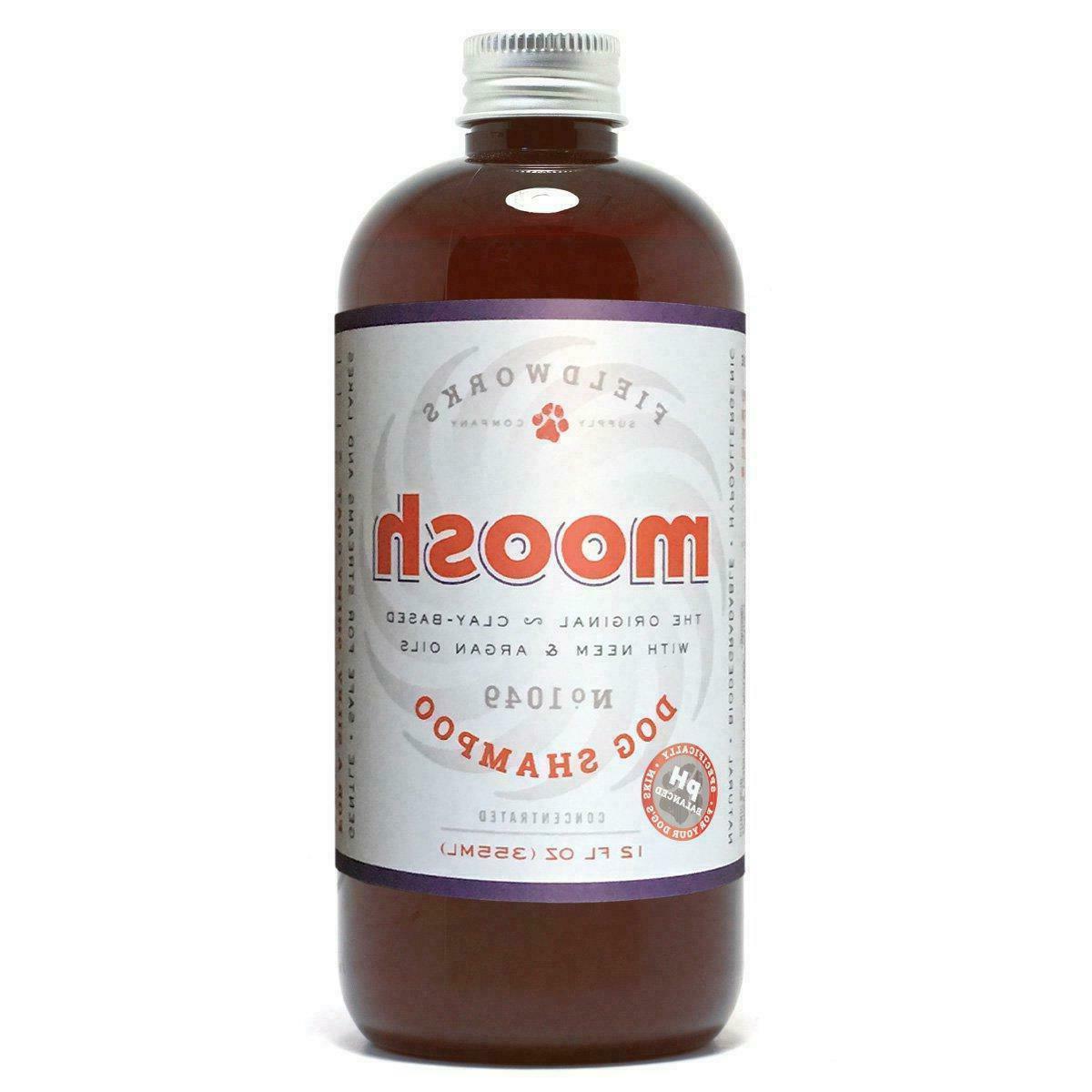 natural dog shampoo anti bacterial anti fungal