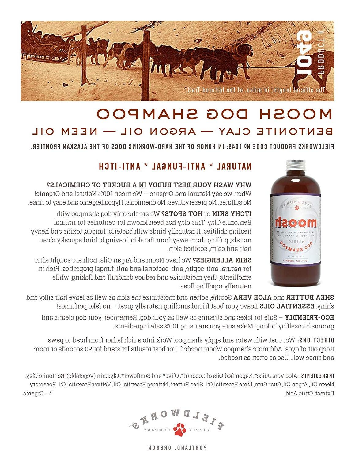 Natural Shampoo. Anti-Bacterial-Anti-Fungal- Anti-Itch , by