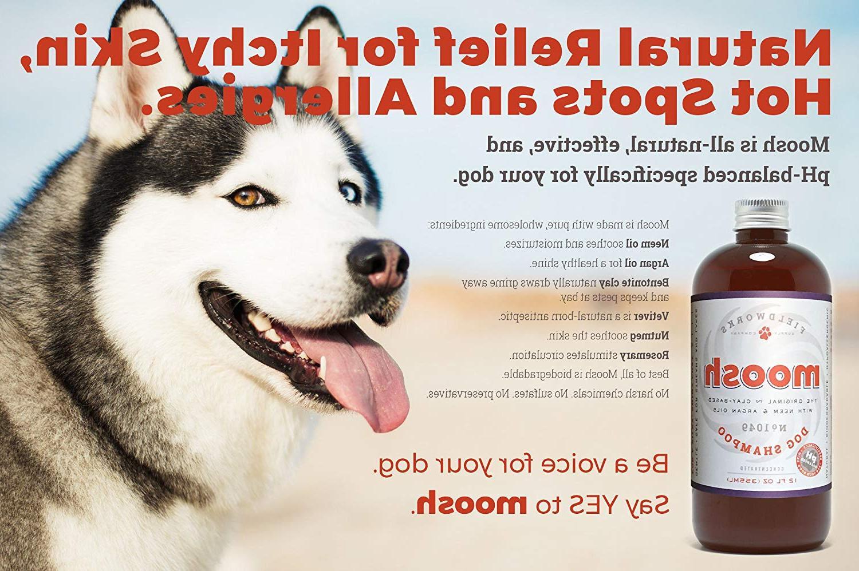 Natural Dog Shampoo. Anti-Itch ,