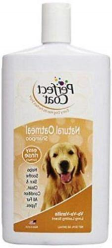 Perfect Coat Natural Oatmeal Dogs Shampoo for Calms Dry, Itc