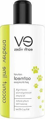 Earth Vibes Natural Oatmeal Pet Shampoo & Conditioner For Do
