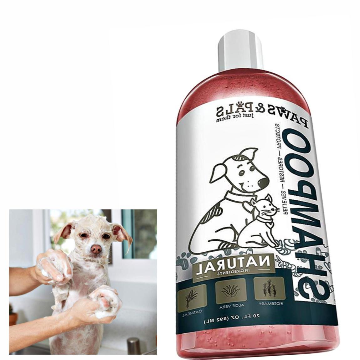 Natural Pet Eye Friendly Shampoo Dogs Dry Sensitive Skin Non
