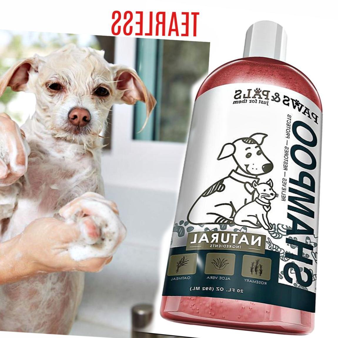 Natural Pet Eye Shampoo Dogs Skin oz