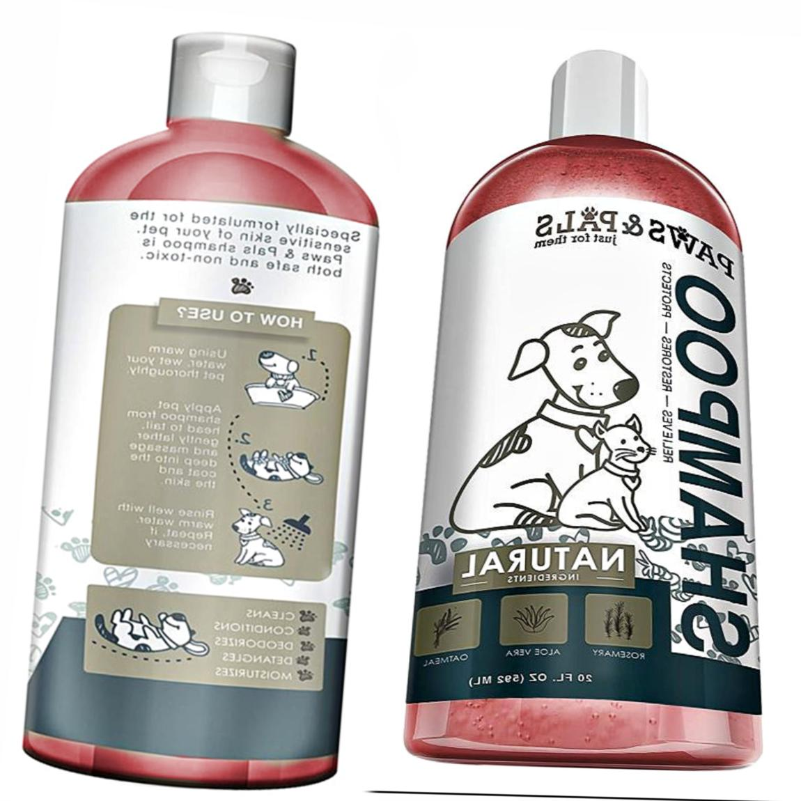 Natural Friendly Shampoo Dogs Sensitive Skin oz