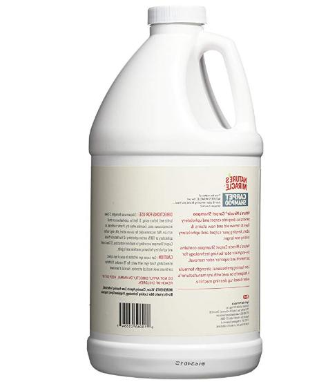 Nature's Shampoo Deep Cleaning and Odor 64 Oz