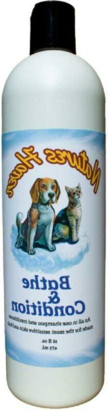 Natures Haven Bathe&Condition Dog And Cat Shampoo Plus Condi