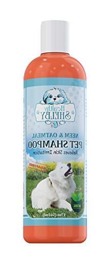 Healthy Shelby Neem & Oatmeal Pet Shampoo, Shampoo For Cats