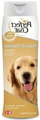 NEW 8 in 1 Perfect Coat Natural Oatmeal Dog Shampoo French V