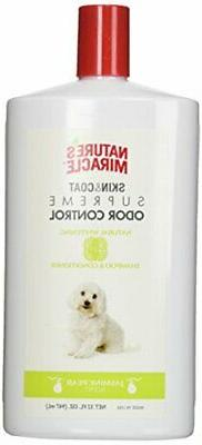 NEW Nature's Miracle Supreme Whitening Odor Control Shampoo,