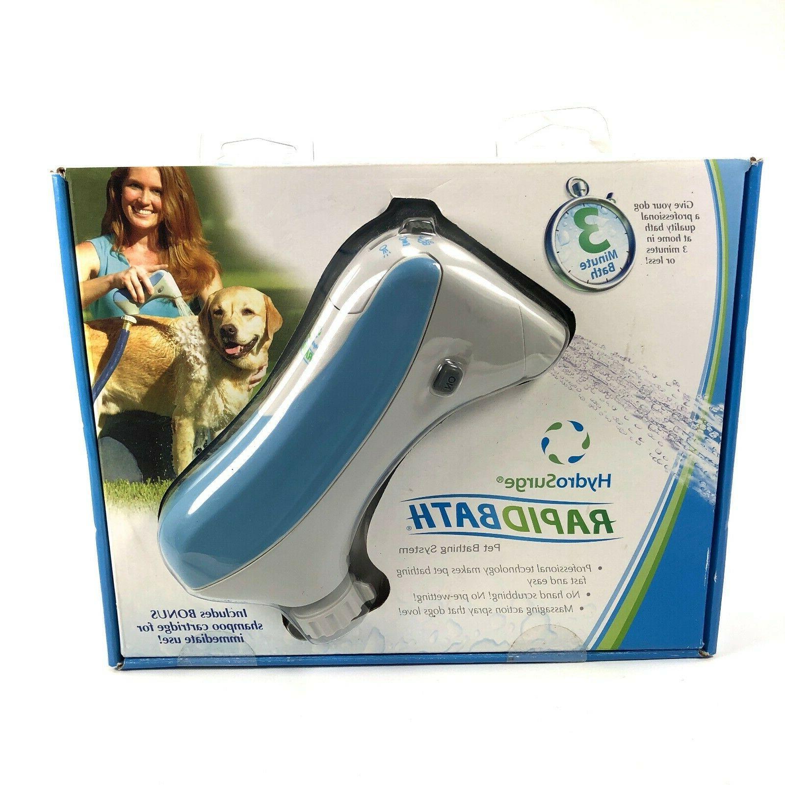 new rapid bath hypo allergenic dog shampoo