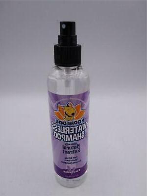 new waterless dog shampoo 8 oz