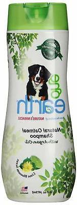One Earth NM-5971 Natural Oatmeal Shampoo, 16-Ounce, Lime Bl