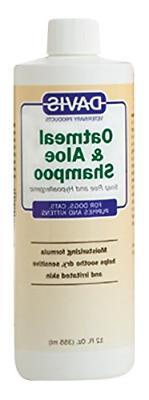 Davis Oatmeal and Aloe Dog and Cat Shampoo, 12-Ounce