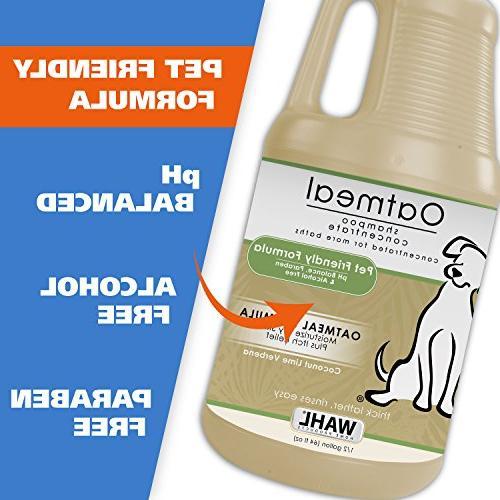 WAHL Oatmeal Dog/Pet Tan Moisturizing Dog Dry,