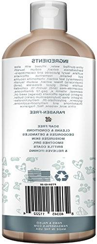 Natural Conditioner 20oz Medicated Clinical Wash for & Cats with for Relieving Dry Itchy