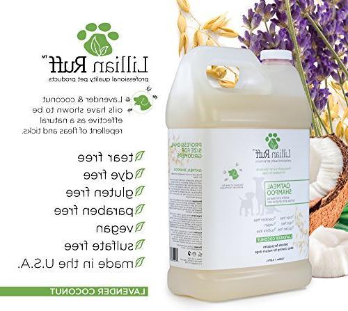 Lillian Ruff Oatmeal Shampoo - Coconut Scent Aloe - Deodorize Itchy Skin Cleanser Sensitive in USA