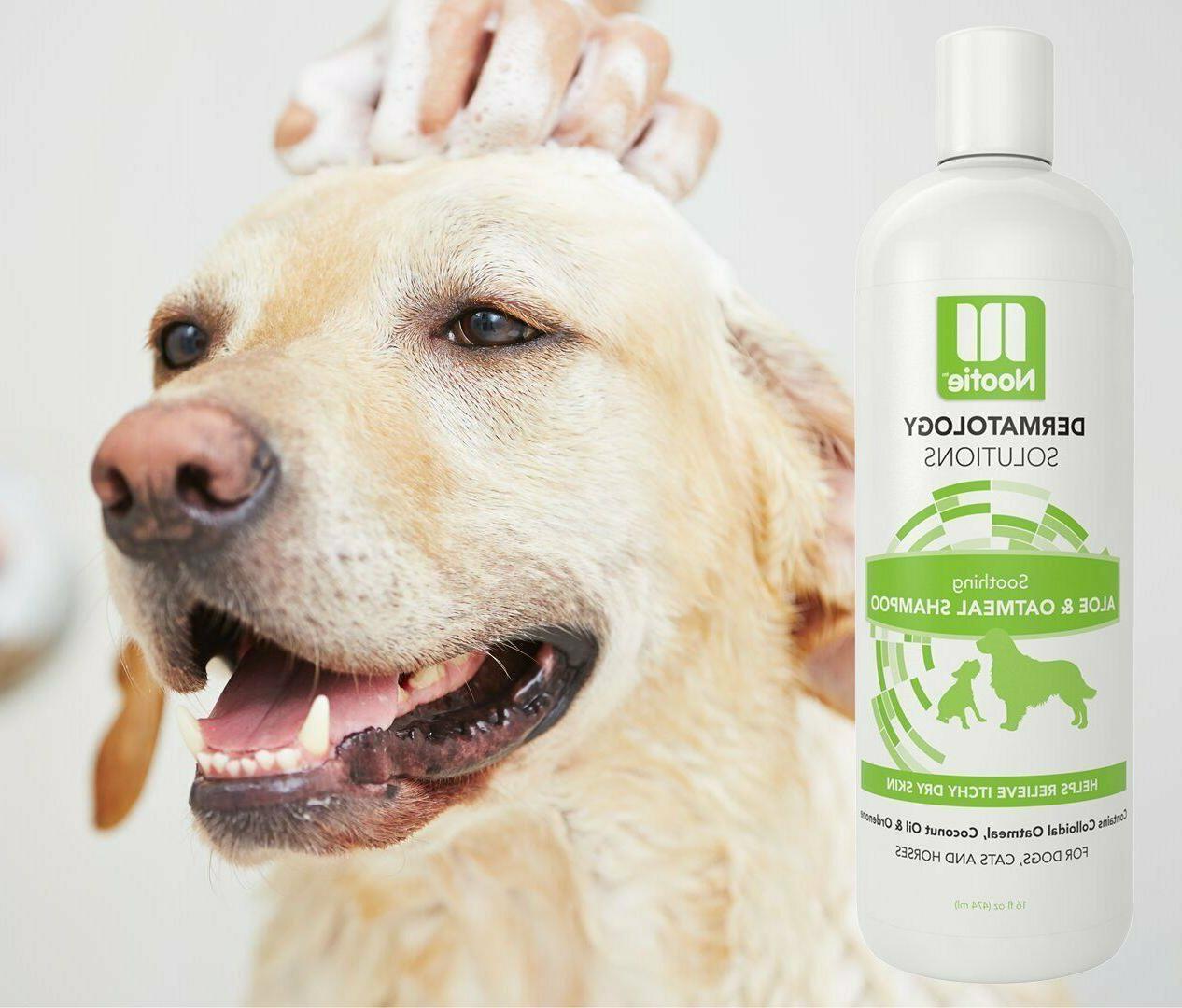 oatmeal dog shampoo itchy skin