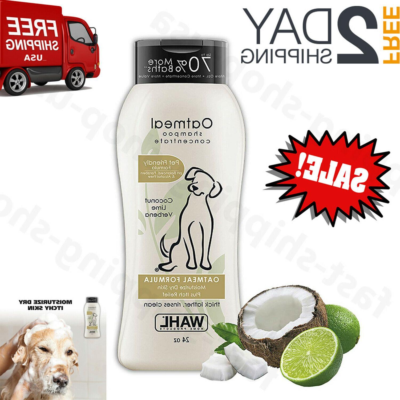 oatmeal dog shampoo pet dry itching irritated