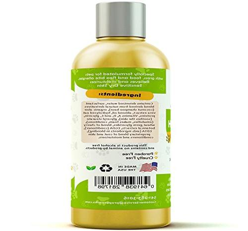 Pro Pet Works Natural + Cats and Soap with Aloe & Sensitive