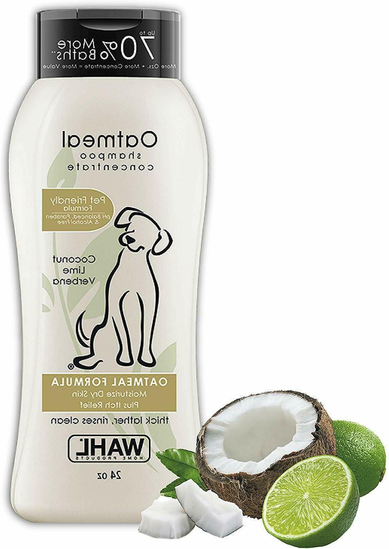 oatmeal pet shampoo