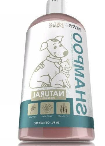 Pet Argan Oil Shampoo Conditioner for Dog Cat Tearless Moist