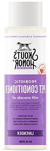 SKOUT'S HONOR Pet Conditioner Probiotic Conditioner Lavender