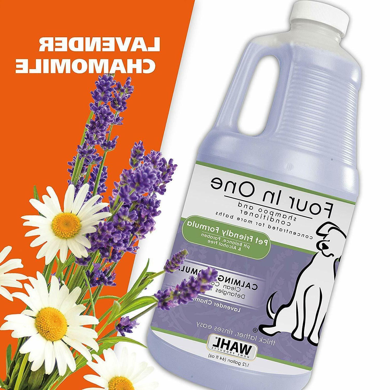WAHL 4-in-1 Chamomile Shampoo 821000-051 Dog