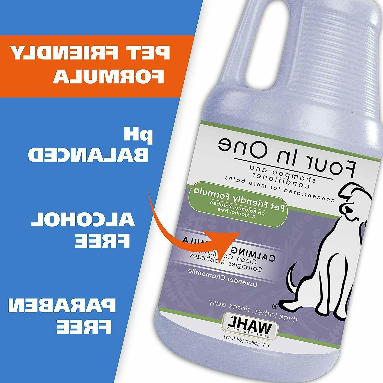 WAHL Pet/Dog 4-in-1 Shampoo Dog Shampoo t