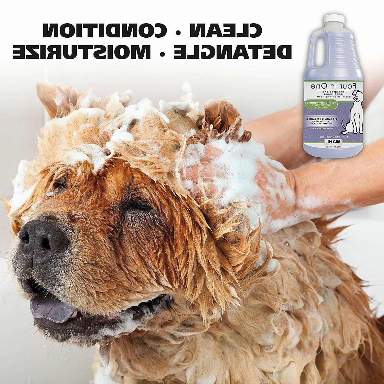 WAHL 4-in-1 Chamomile Shampoo 821000-051 Dog Shampoo t