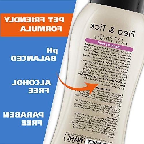 Wahl Dog/Pet Shampoo, Flea and Tick,