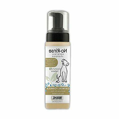 pet friendly no rinse waterless shampoo coconut