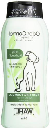 Wahl Dog/Pet Shampoo, Odor Control