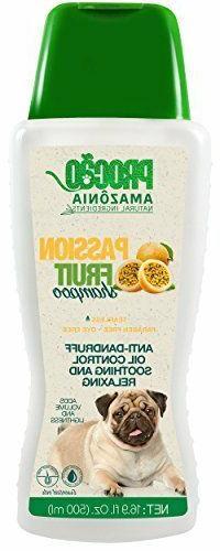 PROCÃO Pet Shampoo - Dog Shampoo - Scent: Passion Fruit  -