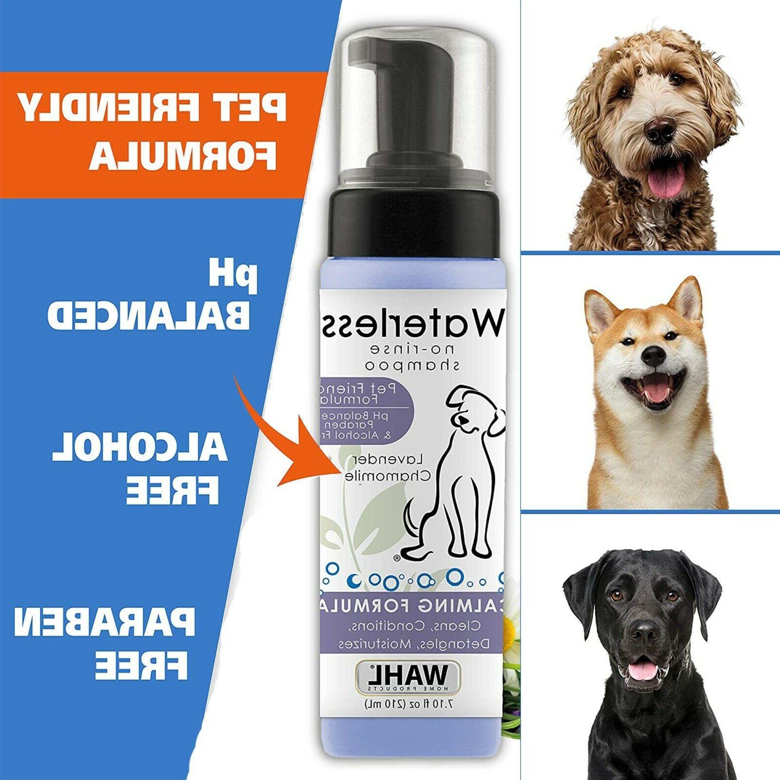 Pet No Shampoo for Cats Horses Wahl Chamomile