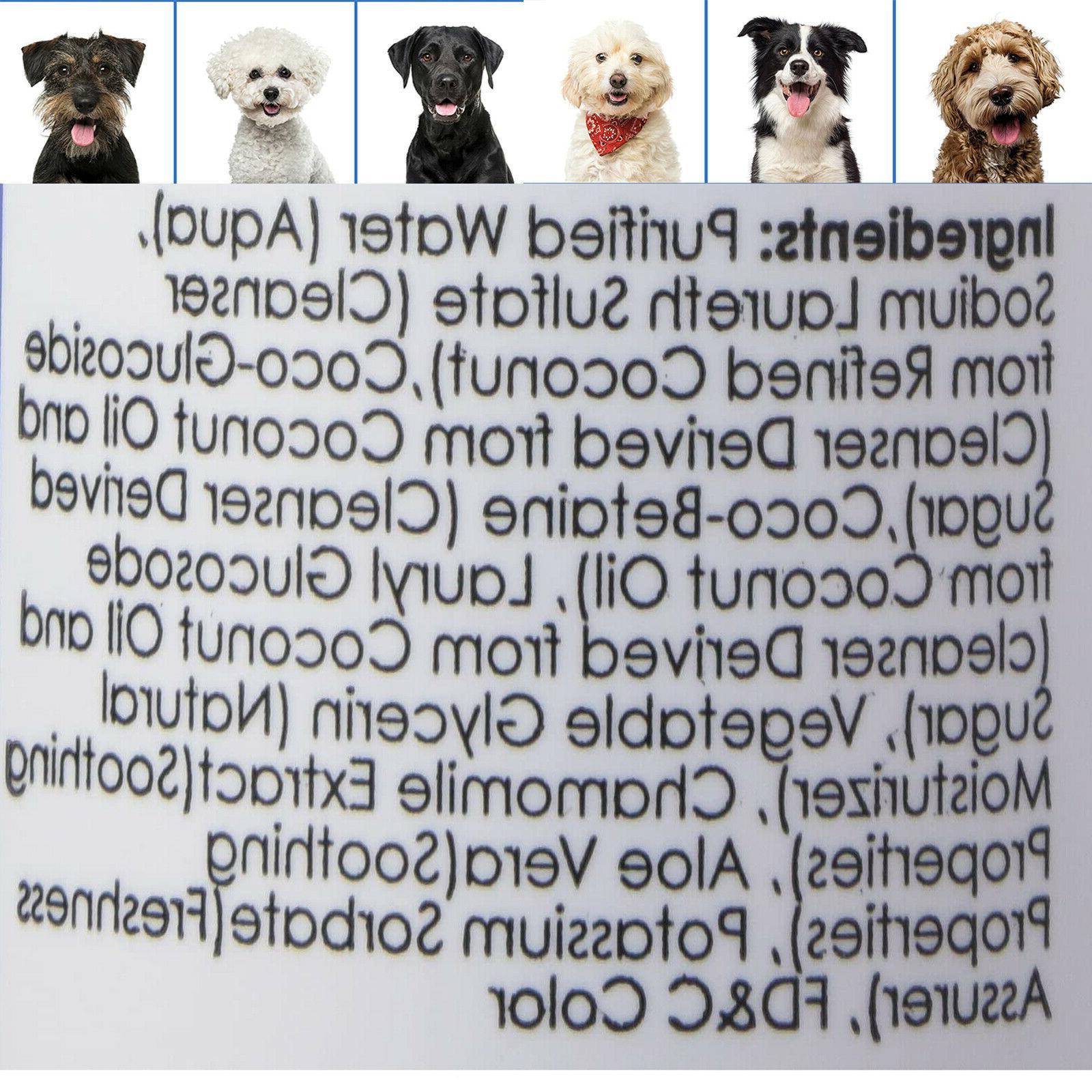 Pet Shampoo Dogs Cats Horses Chamomile