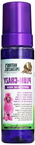 Nature's Specialties Plum-Crazy Foaming Facial Wash for Pets