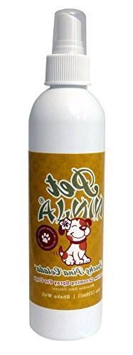 Bathroom Ninja Poochy Pina Colada Natural Deodorizing Groomi