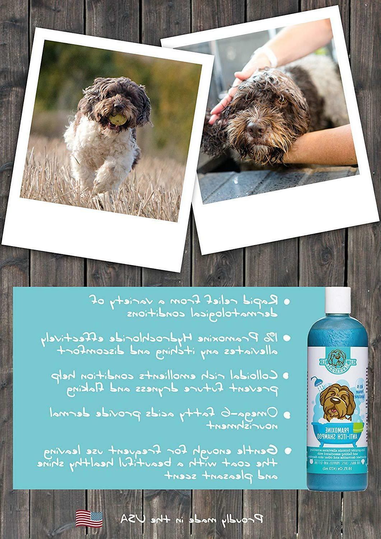 Mynetpets Pramoxine Dog Shampoo Cats,