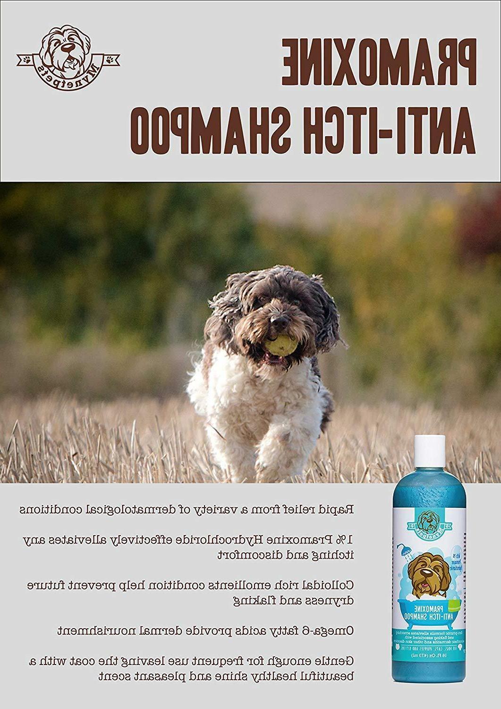 Mynetpets Anti-Itch Dog Shampoo for Cats,