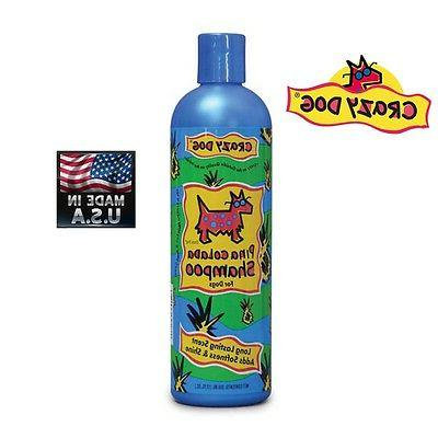 CRAZY DOG PREMIUM PET SHAMPOO*Tearless*DE-TANGLES*Vitamin