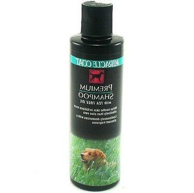 premium dog shampoo w tea tree oil