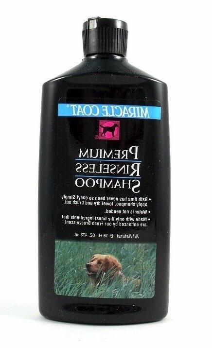 premium rinseless dog shampoo 16 oz mpn
