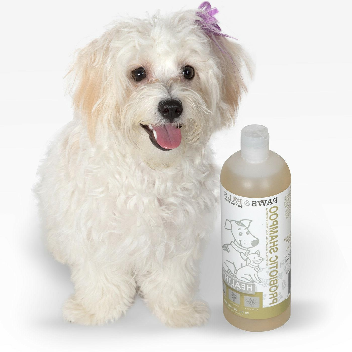 Probiotic Shampoo for Dogs Cats Cleaning Wash