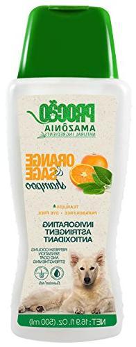 PROCÃO Pet Shampoo Orange and Sage Shampoo  - Refresh and S