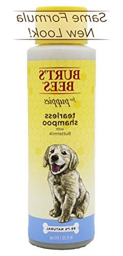 Burt's Dogs All-Natural with Tear-Free Shampoo For Dogs Gentle Fur